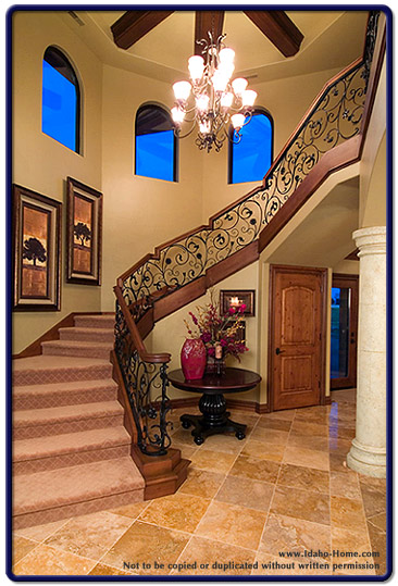 Open Stairway to Second Level