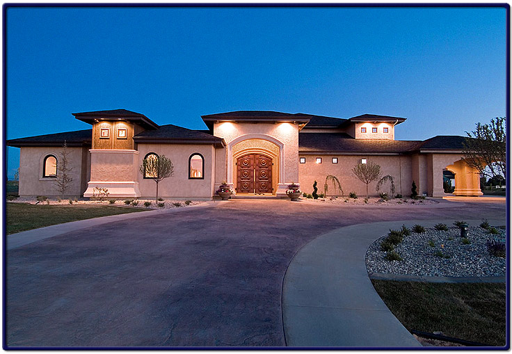 Large mediterranean style home information and picture for Mediterranean houses pictures