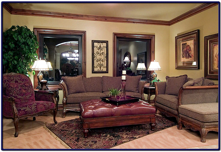 custom living room furniture on Living Room Picture Of Luxury Custom Home